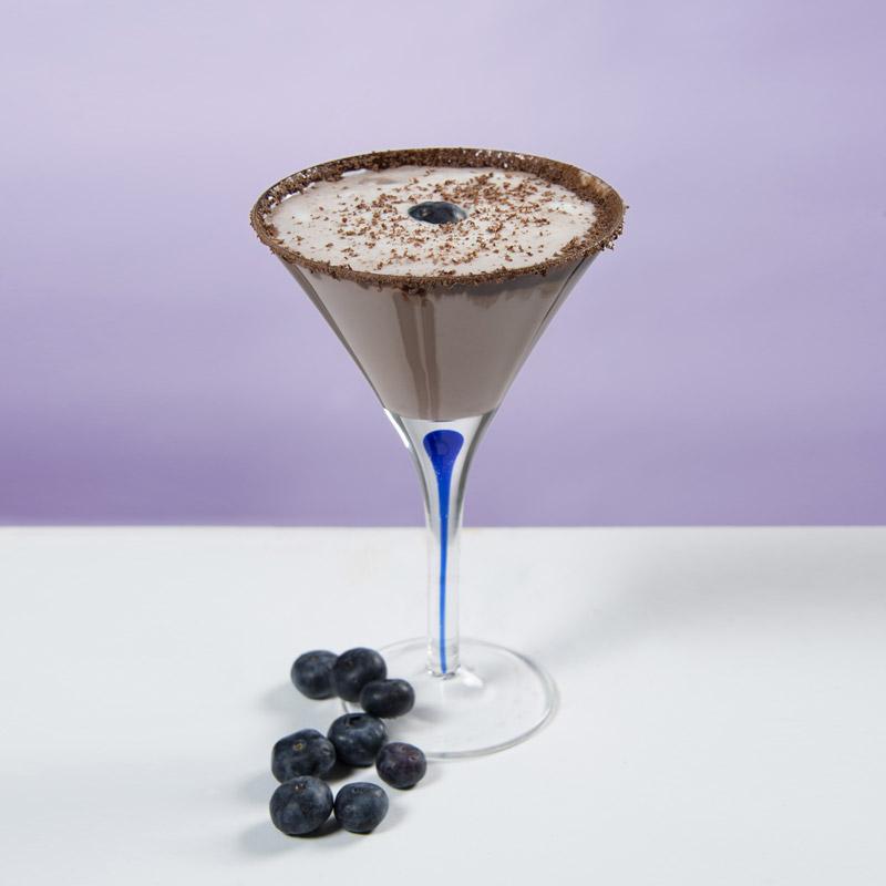 Blueberry Chocolate Martini