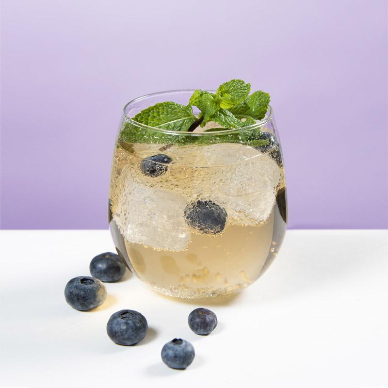 Blueberry Mule